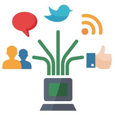 Social Media Fire